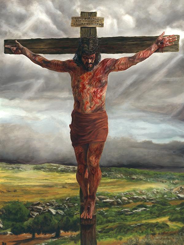 Crucifixion – Original Oil Painting